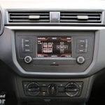 Pantalla táctil básica del Seat Ibiza Reference Plus calibrar altavoces