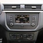 Pantalla táctil básica del Seat Ibiza Reference Plus ordenador de abordo