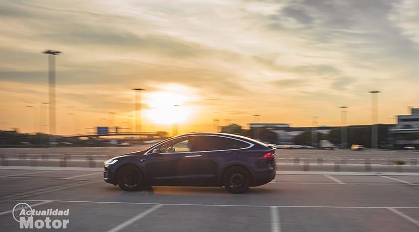 Conduciendo el Tesla Model X