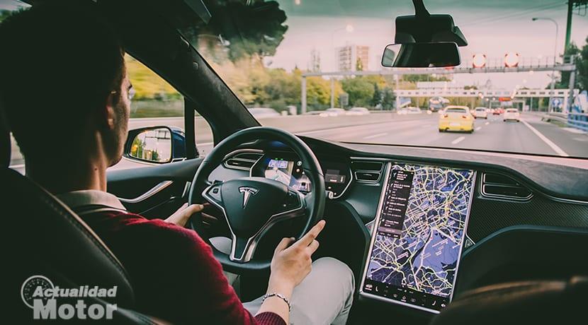 Conduciendo Tesla Model X