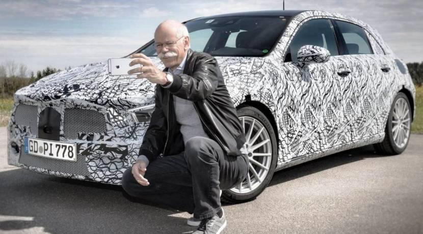 Dieter Zetsche Mercedes-Benz Clase A