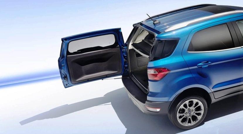 Ford EcoSport maletero