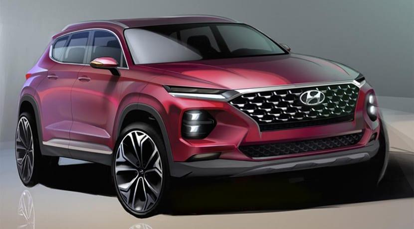Hyundai Santa Fe Boceto