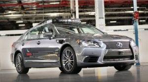 Lexus LS Coche Autónomo plataforma 3.0