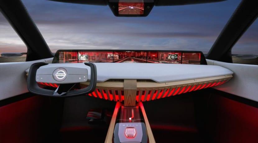 Nissan XMotion Concept Interior