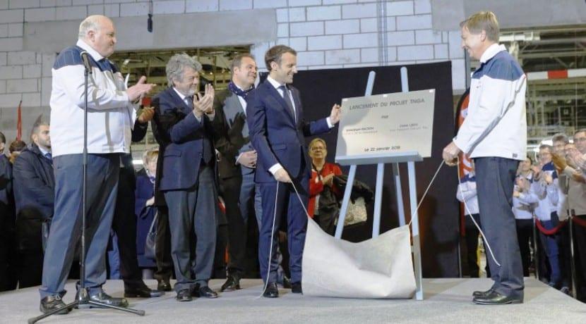 Toyota actualiza Valenciennes Francia