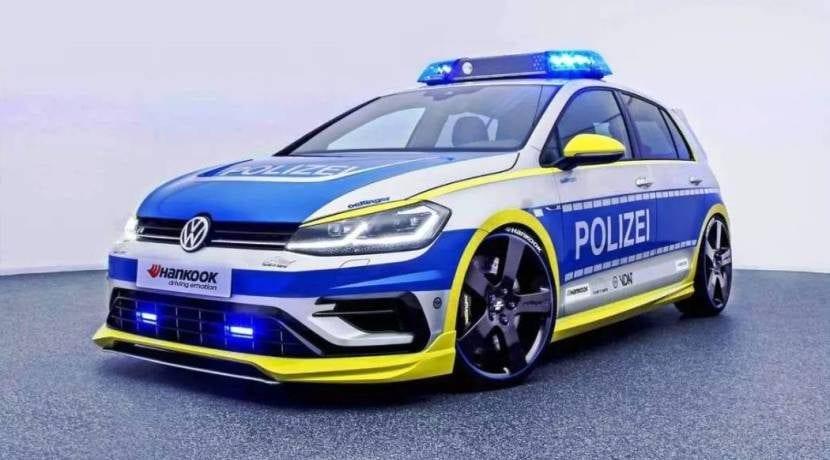 Volkswagen Golf 400R Oettinger Polizei