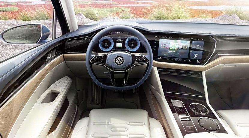 Volkswagen Touareg 2018 Interior