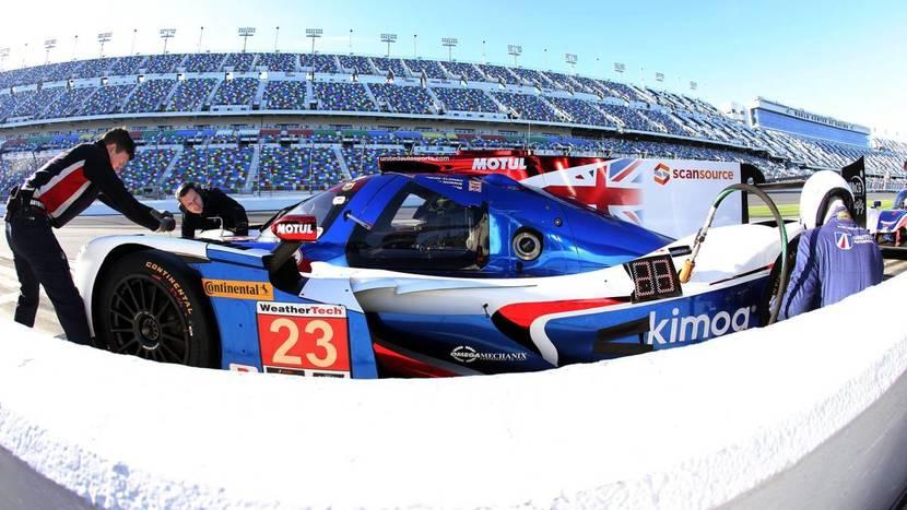 Coche Alonso de Daytona - United Autosport