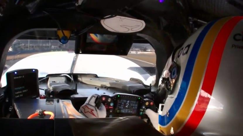 Alonso en el Ligier de United Autosports de Daytona
