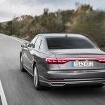 Pilotos traseros OLED del Audi A8