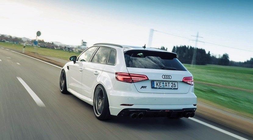 Trasera del Audi RS3 ABT Sportback