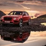 Bentley Bentayga V8 perfil