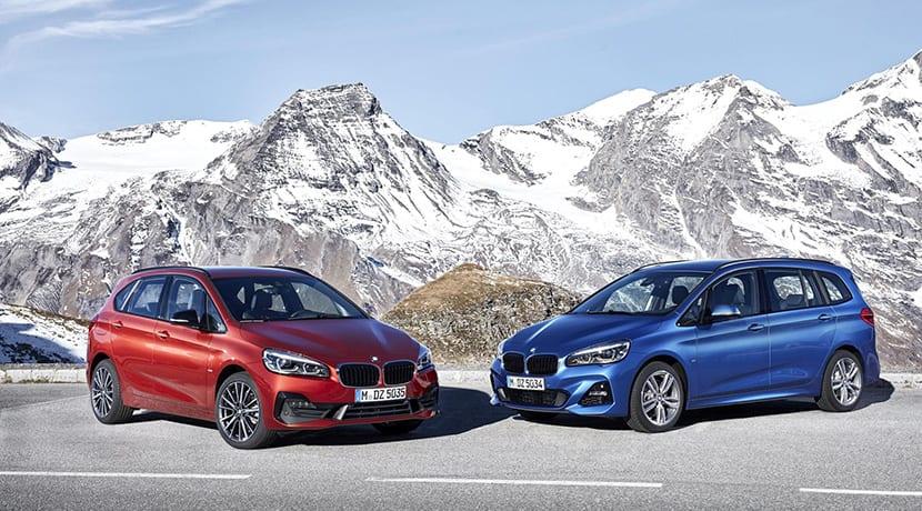 BMW Serie 2 Active Tourer y BMW Serie 2 Gran Tourer