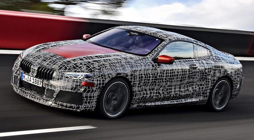 Imágenes desveladas del BMW Serie 8