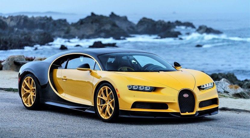 Bugatti Chiron pinzas de freno