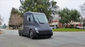 Camión de Tesla