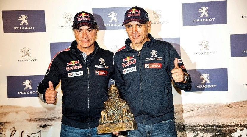 Carlos Sainz y Lucas Cruz campeones del Dakar ya en España