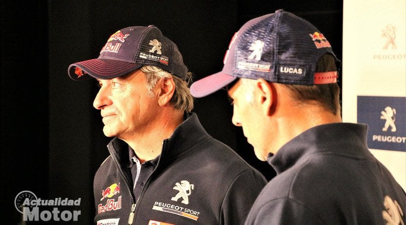 Carlos Sainz y Lucas Cruz campeones del Dakar