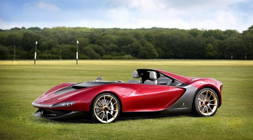 Figuración del superdeportivo eléctrico Ferrari (foto del Ferrari Sergio)