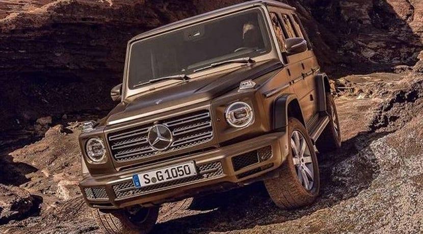 Filtrado el Mercedes Clase G 2018