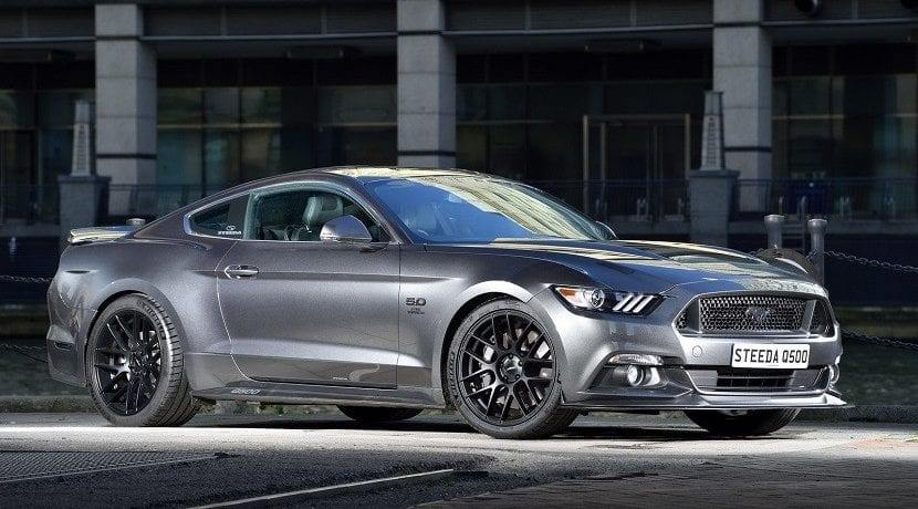 Frontal del Ford Mustang GT Steeda Q500
