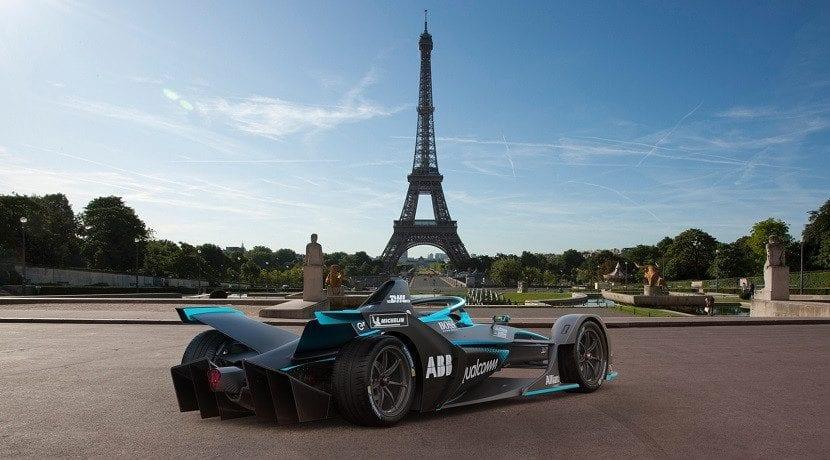 Segunda generación de los coches de la Fórmula E (trasera)