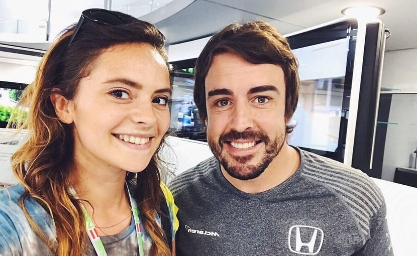 Francesca Michielin y Fernando Alonso