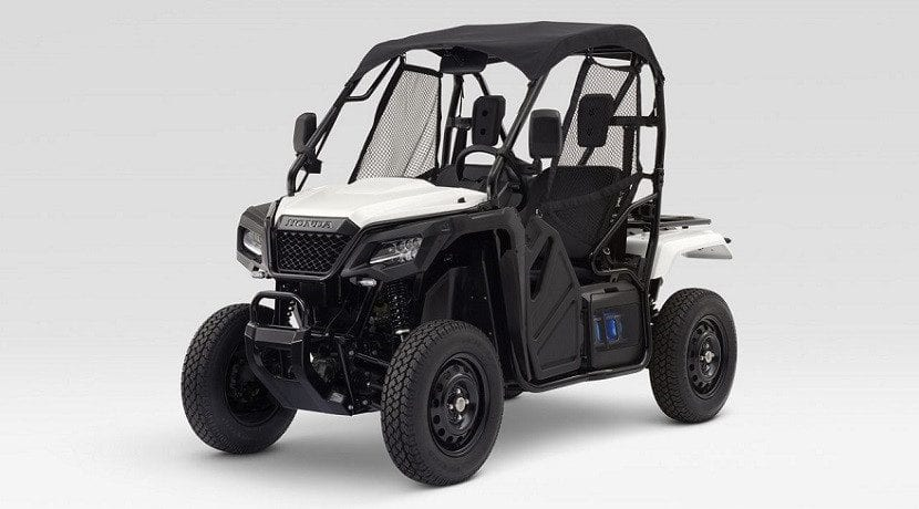 Quad de Honda con baterías intercambiables