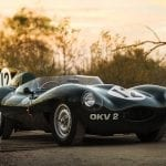 Jaguar D-Type de 1954 a subasta