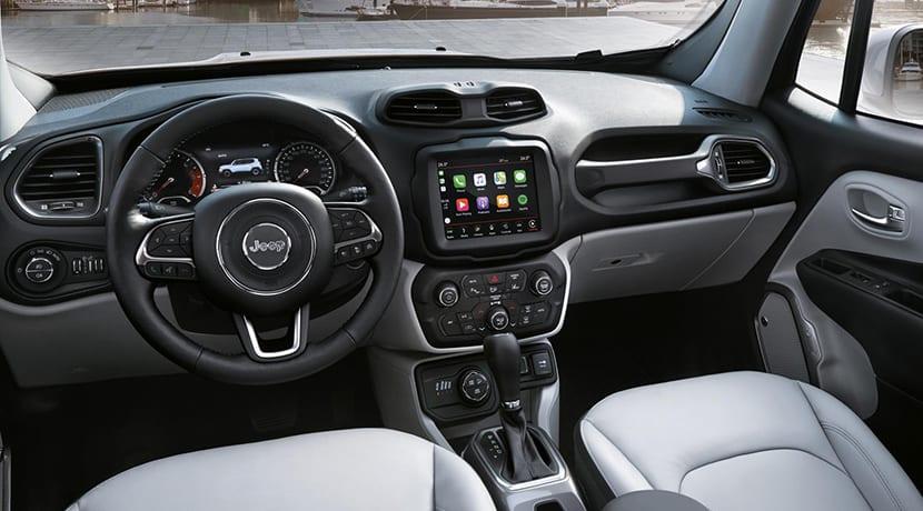 Salpicadero Jeep Renegade 2018