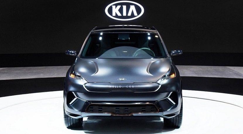Frontal del Kia Niro eléctrico concept