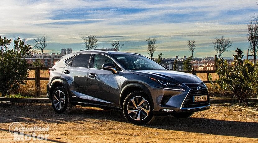 Frontal del Lexus NX 300h Luxury