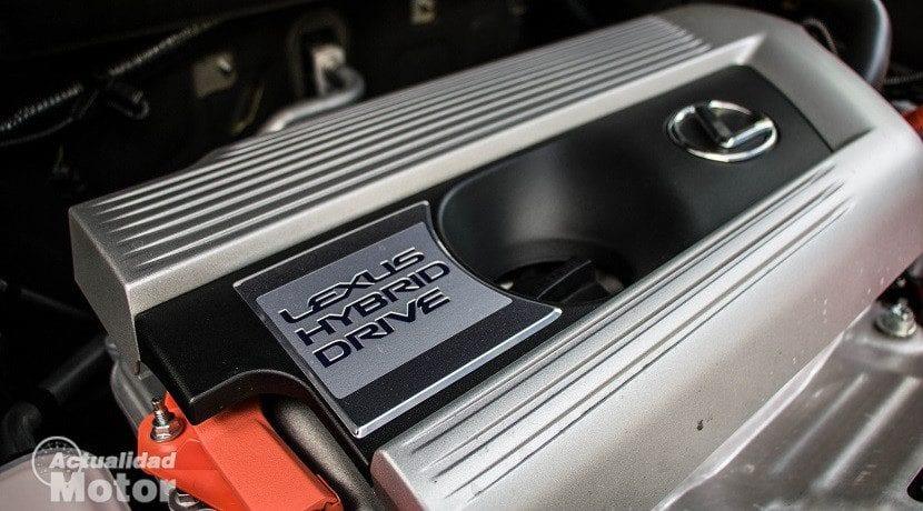 Motor del Lexus NX 300h