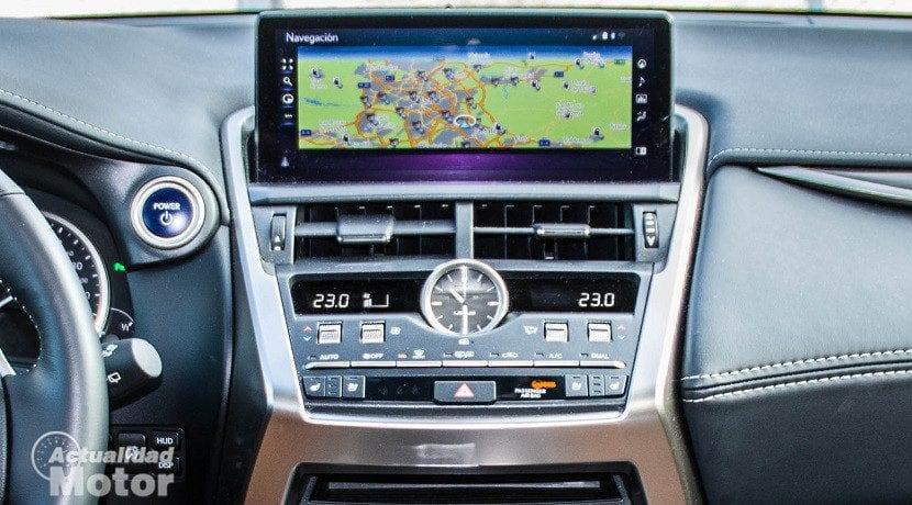 Pantalla de 10,3 pulgadas del Lexus NX 300h Luxury