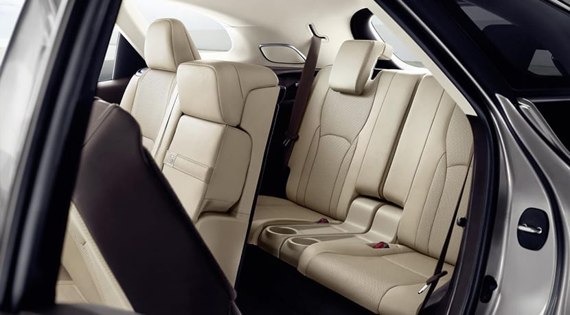 Lexus RX 450h L plazas traseras