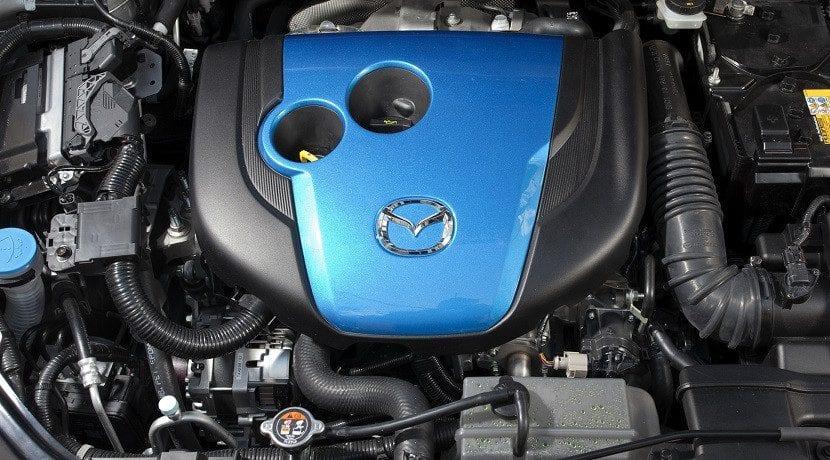 Motor Skyactive Mazda