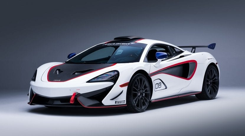 Frontal del McLaren MSO X