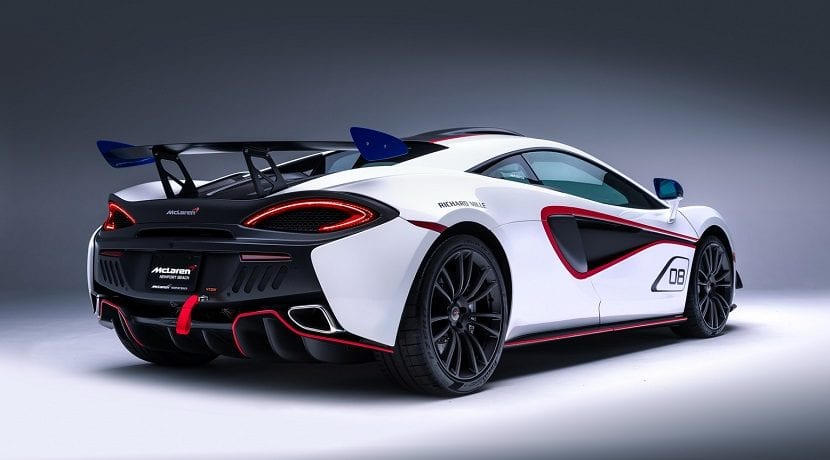 Trasera del McLaren MSO X