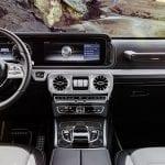 Interior del Mercedes Clase G