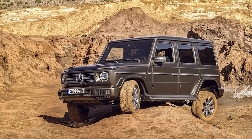 El Mercedes Clase G en campo