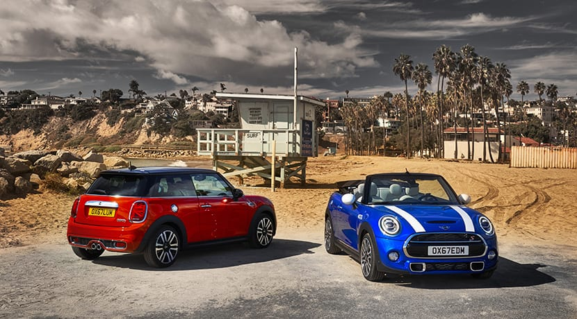 MINI Cooper S y MINI Cabrio S