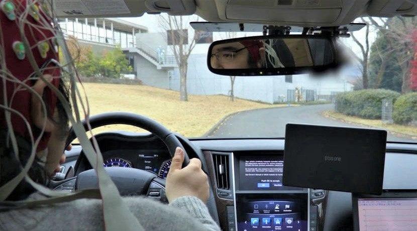 Tecnología cerebro-vehículo desarrollada por Nissan