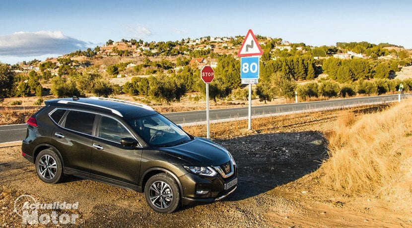 Nissan X-Trail cualidades offroad