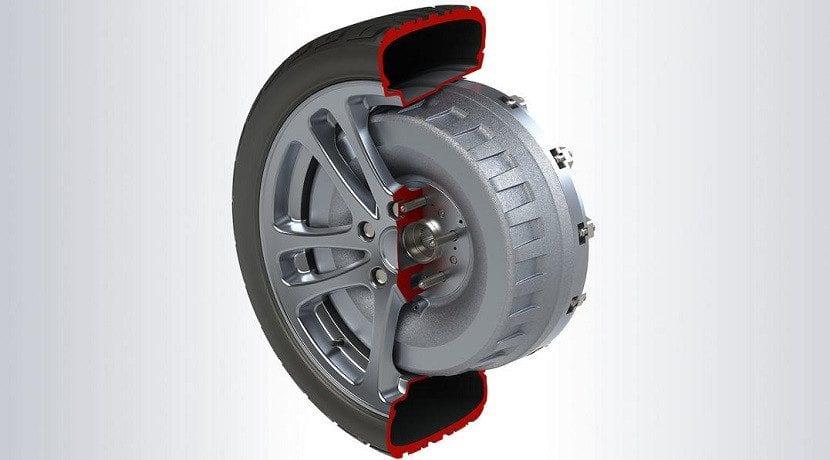 Motor en rueda eléctrico de Protean Electric