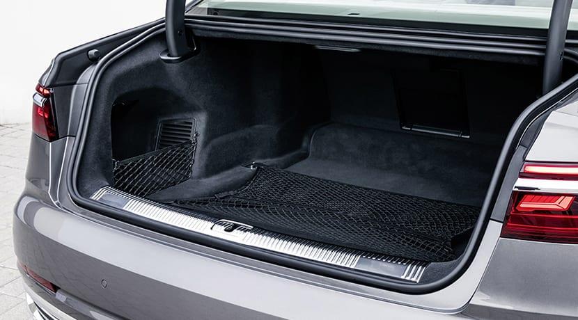 Maletero del Audi A8