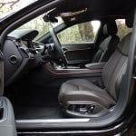 Prueba Audi A8 espacio plazas delanteras