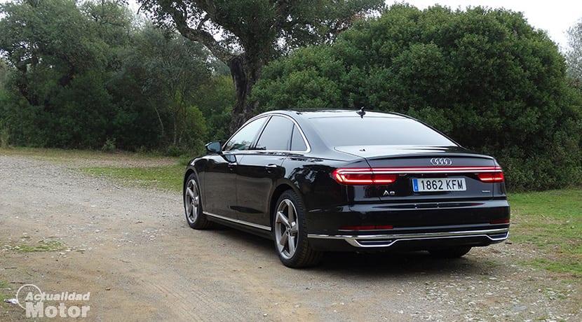 Prueba Audi A8 50 TDI