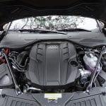 Prueba Audi A8 motor TDI
