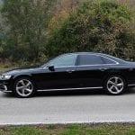 Prueba Audi A8 TDI lateral